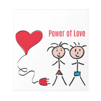 Power of Love Notepad