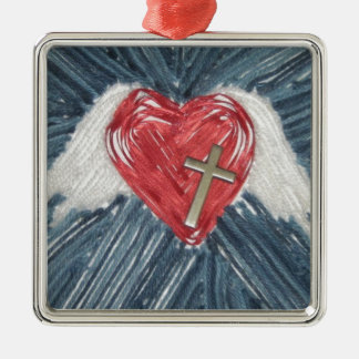 Power of Love Christmas Tree Ornament