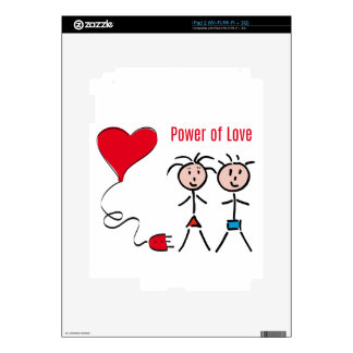 Power of Love Decals For The iPad 2