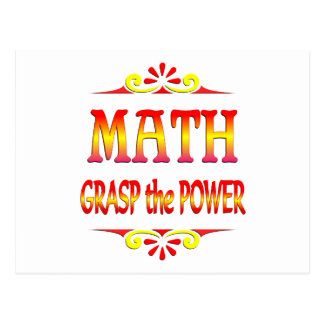 Power of Math Postcard