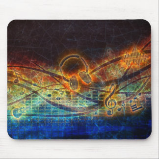 power of music mouse pad