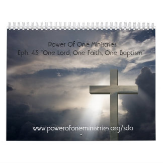 Power Of One Ministrie... Calendar