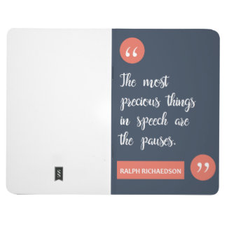 'Power Of Pause' Notebook