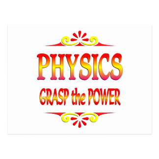 Power of Physics Postcard