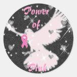 Power of Pink Sticker