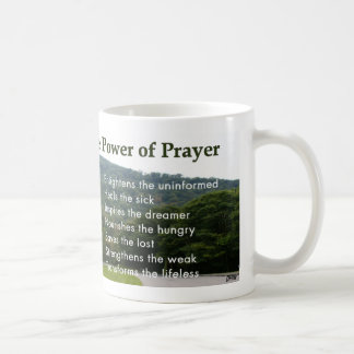 Power of Prayer Cup Classic White Coffee Mug