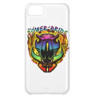 Power Of Pride Rainbow Boar's Head iPhone 5C Cases