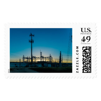 Power Off Postage Stamp