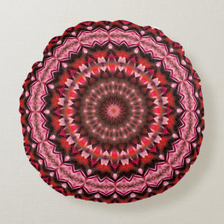 Power or Dreams Mandala (saves cherry) Round Pillow
