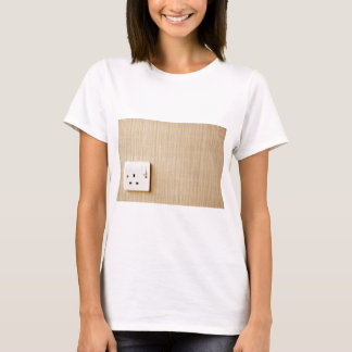 Power outlet at the corner of a wall T-Shirt