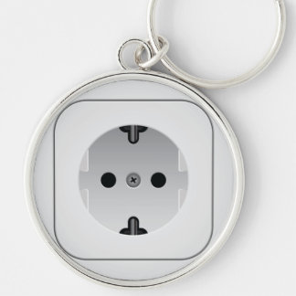 Power Outlet  Keychain