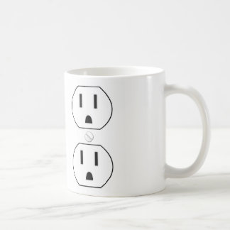 Power Outlet Classic White Coffee Mug