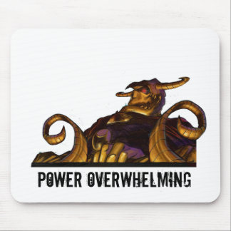 Power Overwhelming - Overlord Warlock Mouse Pad