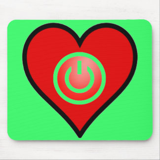 Power Pad Green Mouse Pad