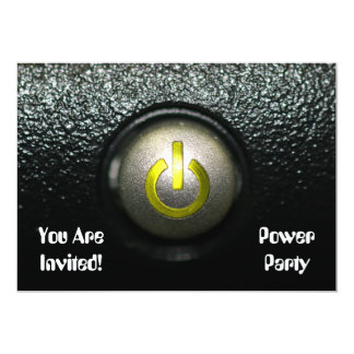 Power Party Card