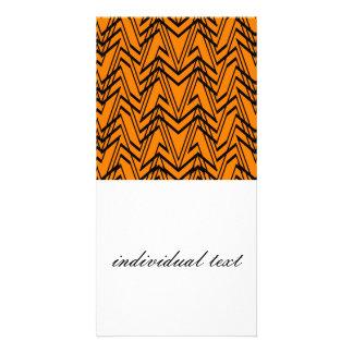 power pattern 06 orange (C) Photo Card