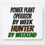 Power Plant Operator Hunter Mouse Pads