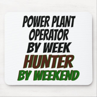 Power Plant Operator Hunter Mouse Pad