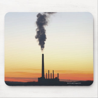 Power Plant Smoke Stack Mouse Pad