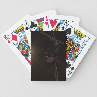 Power Pole Night Shot Pulaski Virginia Bicycle Playing Cards