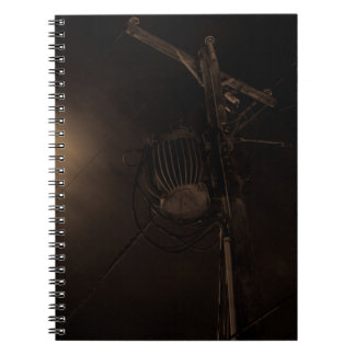 Power Pole Night Shot Pulaski Virginia Notebook