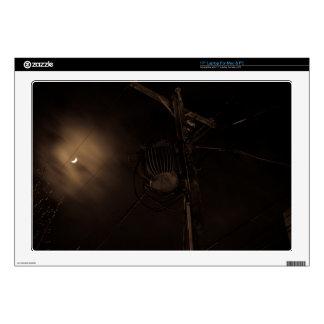 Power Pole Night Shot Pulaski Virginia Skin For Laptop