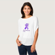 Power Purple For a Cure Circle Flow Top