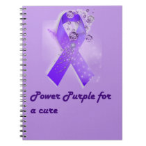Power Purple For a Cure Notebook