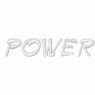 POWER RBG EMBROIDERED HOODY