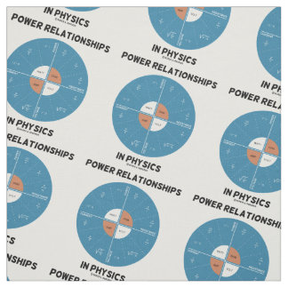 Power Relationships In Physics Power Wheel Geek Fabric
