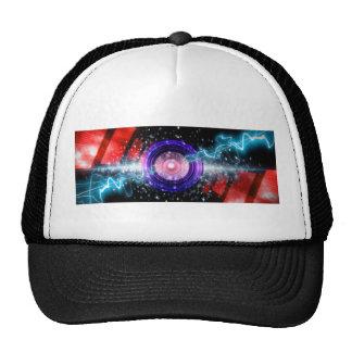 power sound design trucker hat