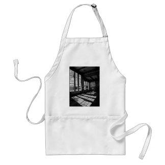 power station 8 bw adult apron