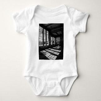 power station 8 bw baby bodysuit