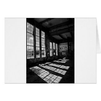 power station 8 bw card