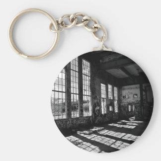 power station 8 bw keychain
