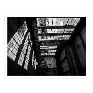 power station 8 bw postcard