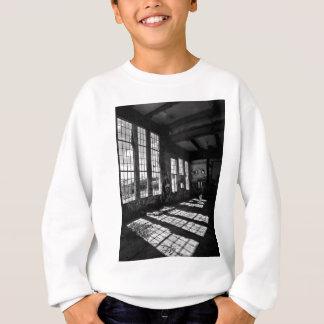 power station 8 bw sweatshirt