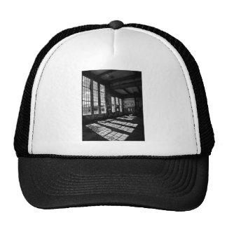 power station 8 bw trucker hat