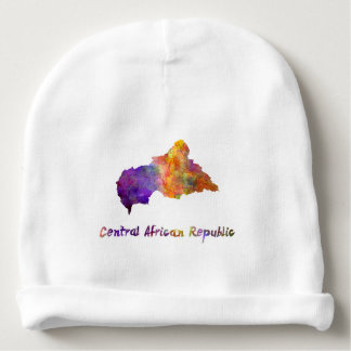 Power station African Republic in watercolor Baby Beanie