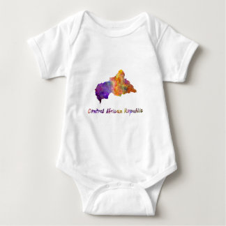 Power station African Republic in watercolor Baby Bodysuit