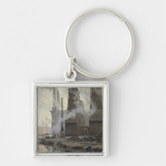 Power Station at Croix-Wasquehal Keychain