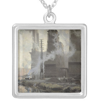 Power Station at Croix-Wasquehal Silver Plated Necklace