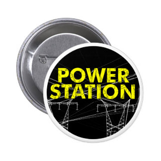 Power Station Badge/ Pin