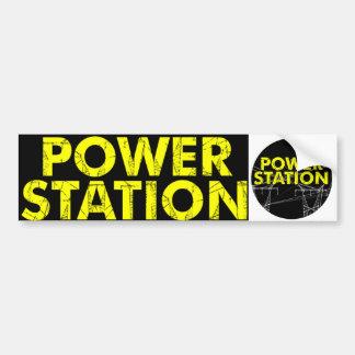Power Station bumper sticker