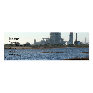 Power Station Double-Sided Mini Business Cards (Pack Of 20)