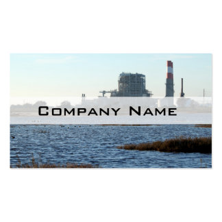 Power Station Double-Sided Standard Business Cards (Pack Of 100)