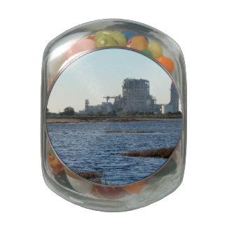 Power Station Jelly Belly Candy Jar