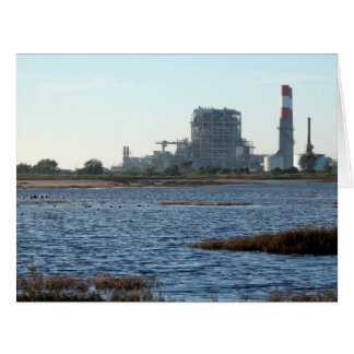 Power Station Large Greeting Card
