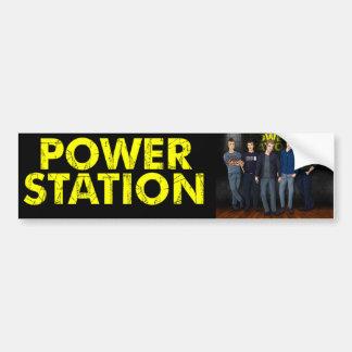 Power Station Guitar Case Sticker