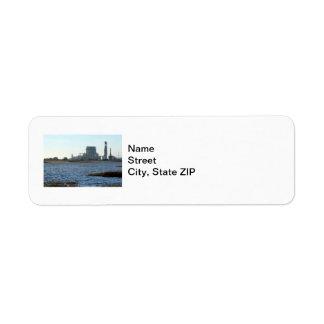 Power Station Return Address Label